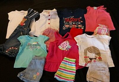 Baby Girl Size 18 months Mixed Spring & Summer Clothing Lot