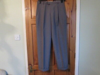 new northern soul / 50s  single pleated turn up trousers  W 30 X L 30