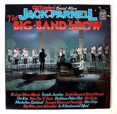Jack Parnell - The Big Band Show -  Vinyl Lp Record - Uk 1976 Mfp 50302 - Nm/ex+
