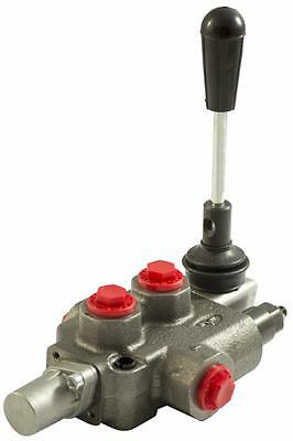 """Hydraulic Distributor 1 One Lever Double Effect 3/8 """"40 Lt"""