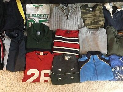 Lot Of Boy Size 8 Fall/Winter/Spring Clothes 23 Pieces!!!
