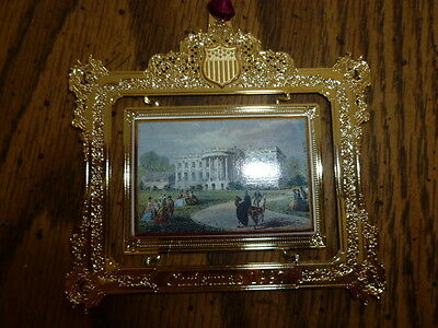 THE WHITE HOUSE HISTORICAL ASSOCIATION Christmas Ornament 1997 Franklin Pierce