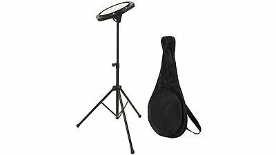 NEW On-Stage DrumFire DFP5500 Drum Practice Pad w/ Stand & Bag