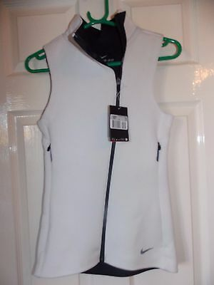 Brand New Ladies Nike Therma Fit Golf Gilet Rrp £95 Uk Xs Size 6/8