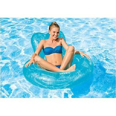 Intex Transparent Lounger Blue or Pink #TY9298