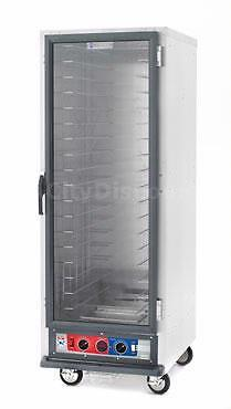 Metro C519-CFC-L Metro C5 Series 1 Combo Cabinet w/Full Clear Door Lip Load