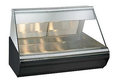 "Alto-Shaam EC2-48-SS Halo Heat® 48"" Countertop Heated Display Case - Stainless"