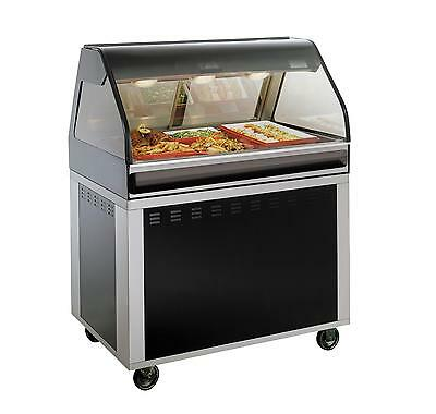 """Alto-Shaam EU2SYS-48-SS 48"""" Hot Deli Cook/Hold/Display System - Stainless"""