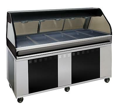 """Alto-Shaam EU2SYS-72/P-BLK 72"""" Hot Deli Cook/Hold/Display System - Black"""