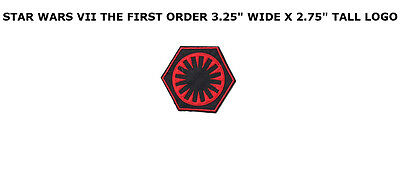 Star Wars - The Force Awakens: First Order Insignia Patch! (US Seller)