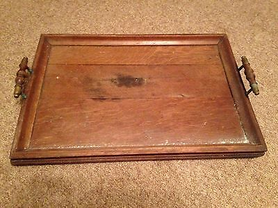 Vintage Antique Butlers Serving Tray