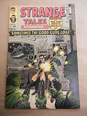 Marvel Comics Strange Tales #138 1965 - First Appearance Of Eternity