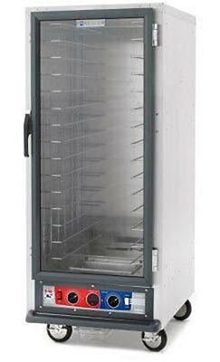 "Metro C519-PFC-4 69.75"" H Mobile Proofing Cabinet Non-Insulated w/ Fixed Wire"