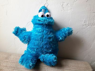 Cookie Monster Plush Backpack Soft 13 Inches