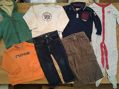 Boys Clothes Bundle 18-24 Months, Nike, Next, Timberland,  Good Condition