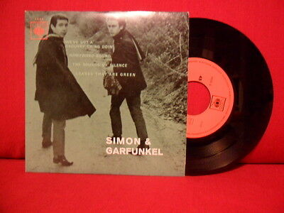 """SIMON & GARFUNKEL We've Got a Groovey Thing Goin 7"""" NMINT PORTUGAL UNIQUE SLEEVE"""