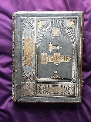 ***PRICE REDUCED*** Antique Victorian Family Bible