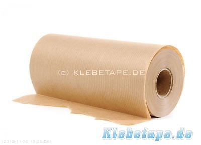 Masking paper 150mm x 50m light impregnated high quality Painter protection