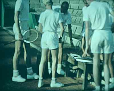 16mm A BOP FILM TENNIS INSTRUCTION FROM DENMARK COLOUR SOUND ALL SUPERB COND