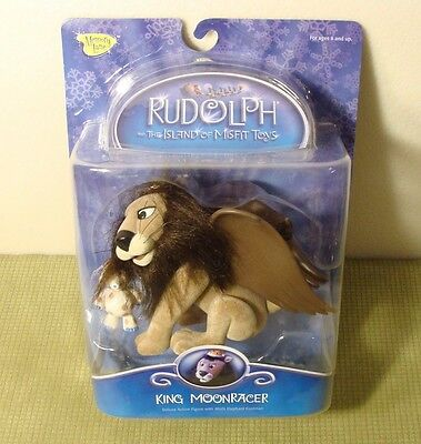 Rudolph & The Island Of Misfit Toys King Moonracer Moc New