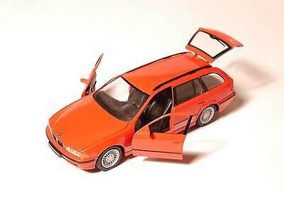 BMW 5er E39 5series e 39 TOURING Kombi break in rot rouge roja red, Schuco 1:43!