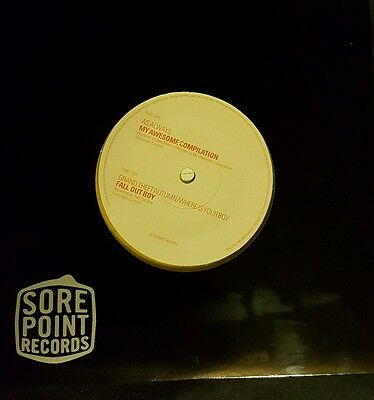 Fall Out Boy RARE Grand Theft Autumn split Yellow 7 inch