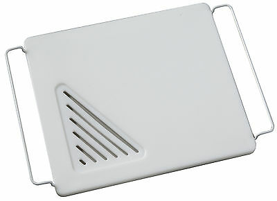 Vance 12 X 13 inch Over the Sink Poly Cutting Board with Adjustable Wire Handles