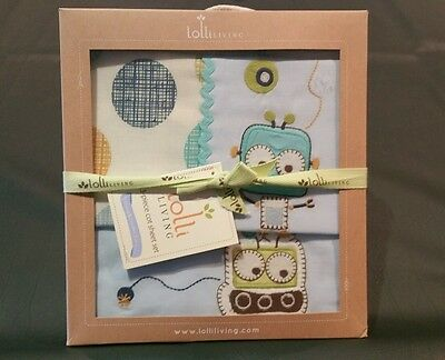 Lolli Living 3 Piece Cot Sheet Set -Baby Bot- Brand New