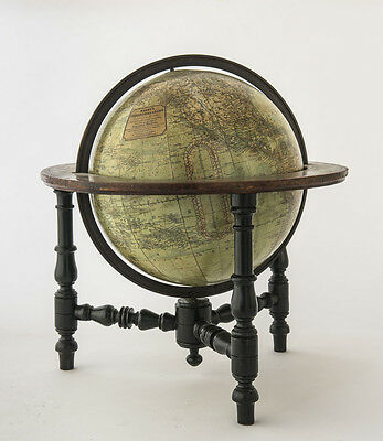 Antique 'Malby & Sons' 12 Inch Terrestrial Globe c. mid-1800's