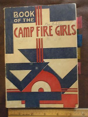 1957 Book Of The Camp Fire Girls