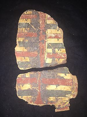 Antiquity Genuine 900Bc Egyptian Sarcophagus Frag King Of Assiut  Authenticated