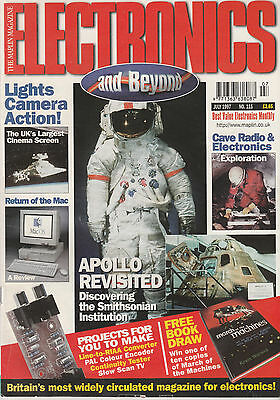Electronics & Beyond Magazine July 1997 - Maplin - Apollo Revisited - Power Mac