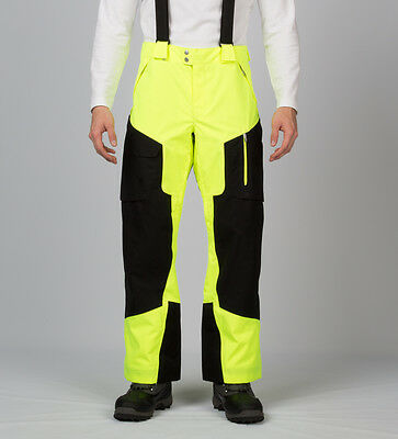 NEW Spyder Men's Dare Athletic Fit SKI PANTS Snowboard yellow  Size large