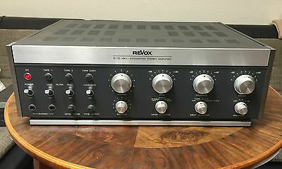 ReVox B 750 MK II Integrated Stereo Amplifier