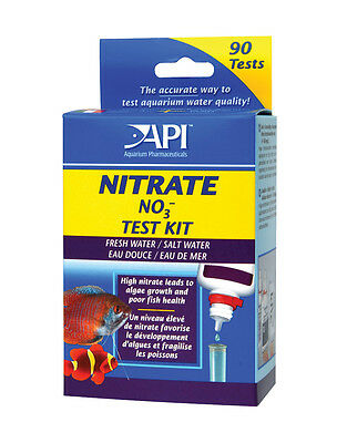 API Liquid Nitrate Test Kit Set NO3 Freshwater & Marine Aquarium Tank
