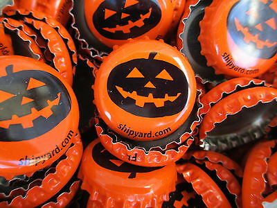 100 Pumpkinhead Beer Bottle Caps (No Dents). Free Shipping