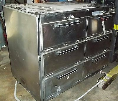 SecoMatic 6 Door Commercial Warmer Holding Cabinet..Needs control knob