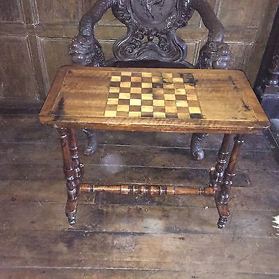 Chess Board Table/Occasional Table