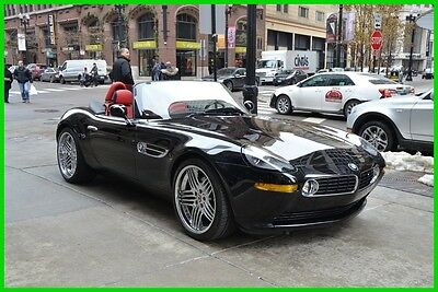 2003 BMW Z8 Alpina 322/555 blk/ red low miles rudy@7734073227 2003 Alpina Used 4.8L V8 32V Automatic RWD Convertible Premium