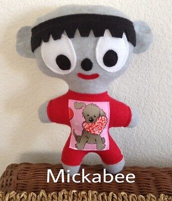 Unibrow Toy named Mickabee