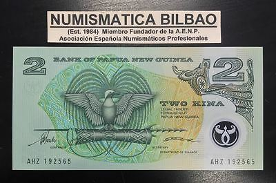 PAPUA NEW GUINEA 2 KINA 1996 UNC Pick 16A Sign 5 POLYMER BANKNOTE CURRENCY 16A