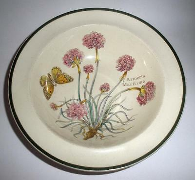 Prinknash Abbey Pottery Florabunda Pattern Dessert Bowl 15cm Dia in Earthenware