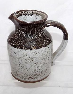 Prinknash Abbey Studio Pottery Milk Jug made by Eddie Hopkins in Stoneware