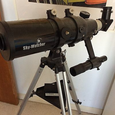 Skywatcher Telescope With Tripod, Filters And Lenses