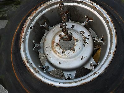 used tractor wheel rim and centre 15/30