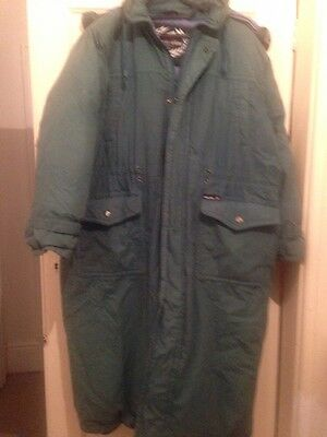Eurostar Thick Down Hooded Cocoon Oversize Coat Size S