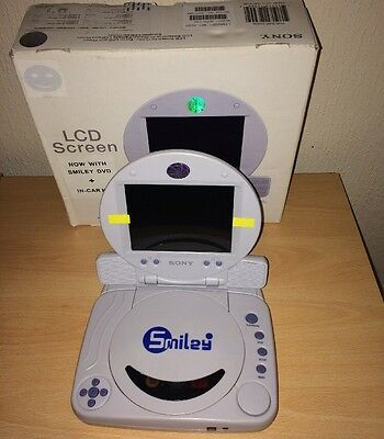 Sony PSOne official LCD screen With Super Rare Smiley DVD Player FAST POST
