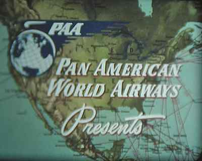 16mm PAN AM OUT TAKES NEW ZEALAND USA COLOUR SOUND 7 MINS