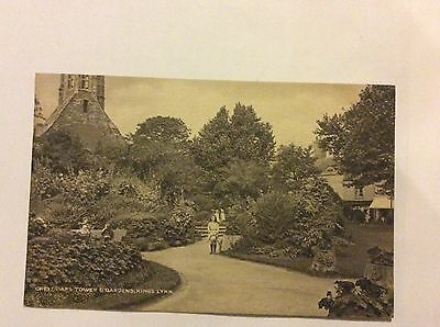 Grey Friars Tower & Gardens Kings Lynn Postcard