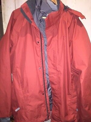 Ski/Winter Jacket Men Quechua Orange Size XL